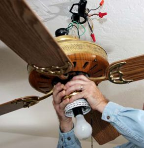 Ceiling fan installation repair kings electricians how does it work ceiling fans aloadofball Image collections